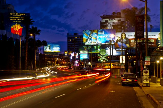 Hollywoodin Sunset Strip