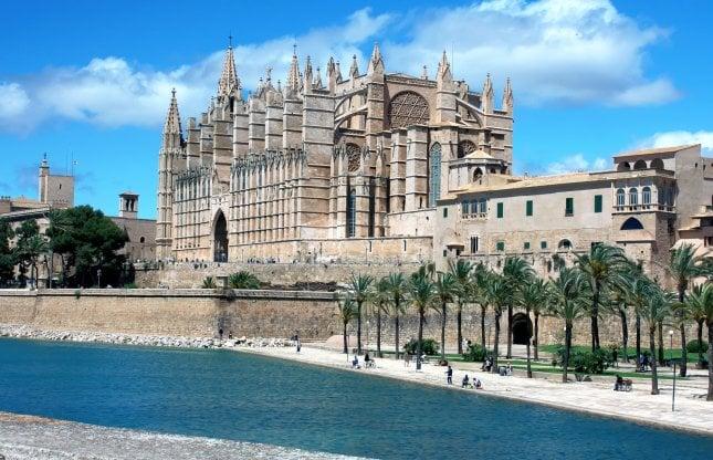 Palma De Mallorca Espanja Napsu