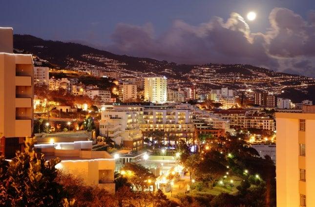 Madeira Portugali Napsu