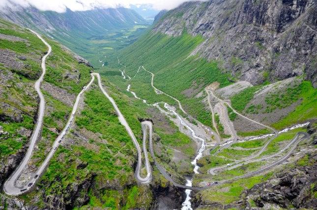 Trollstigen Norja Napsu