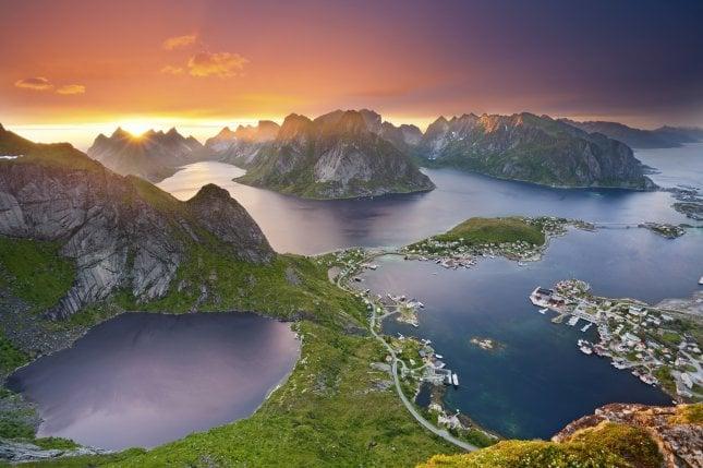 Lofootit, Norja   Napsu