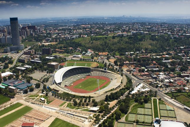 Johannesburg Etela Afrikka Napsu