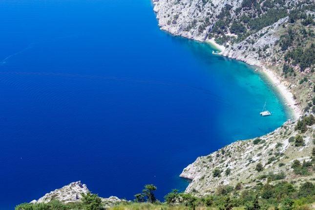 Makarska Riviera Kroatia Napsu