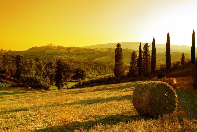 Toscana Italia Napsu