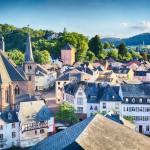 Romanttinen Saarburg - Saksalainen pikkukaupunki kuin suoraan sadusta