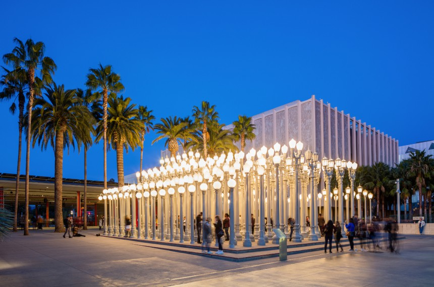 Los Angeles County Museum of Art (LACMA), Los Angeles, Yhdysvallat
