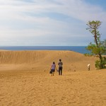 Japanista löytyy miniautiomaa - Tottorin hiekkadyynit ovat hurmaava elämys