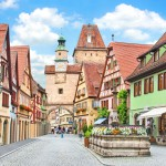 Viisi suloista pikkukaupunkia Saksassa