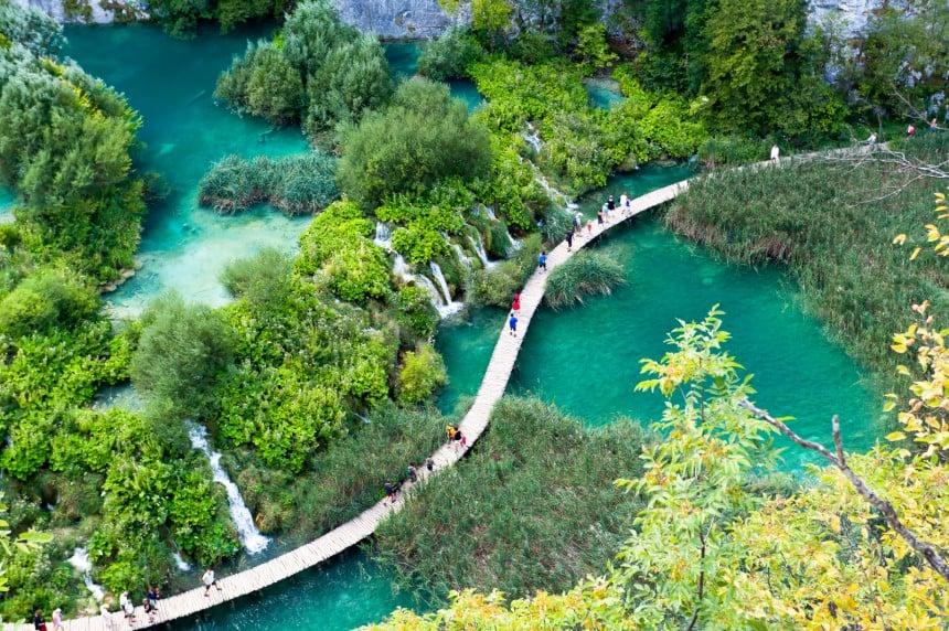 luonnonpuisto kroatia