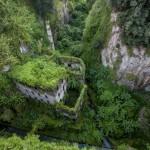 Älä jätä väliin tätä erikoista näkyä - Kasvillisuuden valtaamat rauniot hämmästyttävät Italian Sorrentossa