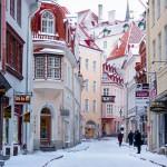 Japanin lumiapinoista Tallinnan kapeille kujille - Viisi viehättävää paikkaa talven matkoille