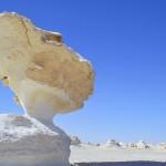 'Kana ja sieni' sekä muita hämmentäviä kivimuodostelmia - Farafran aavikko Egyptissä on kuin Kuun pinnalla