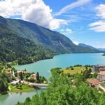 Gardajärvi jäämässä kakkoseksi - Molveno on monen mielestä Italian kaunein järvi