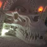 Game of Thrones -fanit huomio! Kittilän lumikylän upea näyttely hittisarjasta on avoinna pääsiäiseen saakka